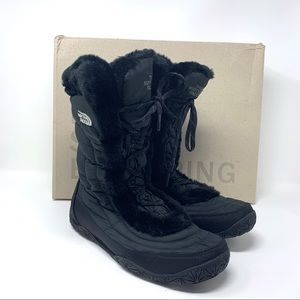 North Face Nupste Fur IV Snow Winter Boots 9.5